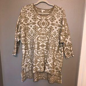 Cato textured tunic / dress size XL 🌟